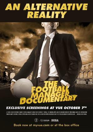 An Alternative Reality: The Football Manager Documentary - British Movie Poster (thumbnail)