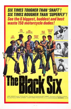 The Black Six - Movie Poster (thumbnail)