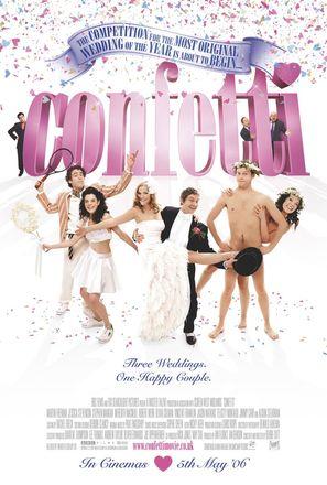 Confetti - British Movie Poster (thumbnail)