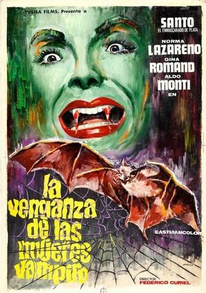 La venganza de las mujeres vampiro - Spanish Movie Poster (thumbnail)