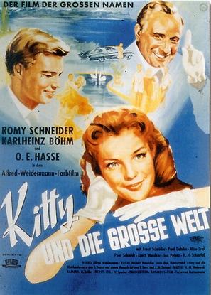 Kitty und die große Welt - German Movie Poster (thumbnail)