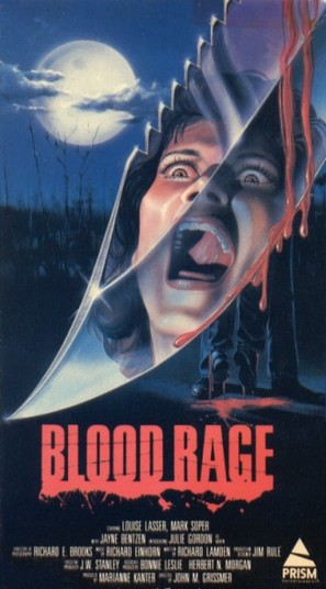 Blood Rage - VHS cover (thumbnail)