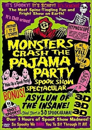 Monsters Crash the Pajama Party - Movie Poster (thumbnail)