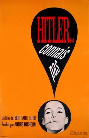 Hitler, connais pas - French Movie Poster (thumbnail)