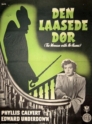 The Woman with No Name - Danish Movie Poster (thumbnail)