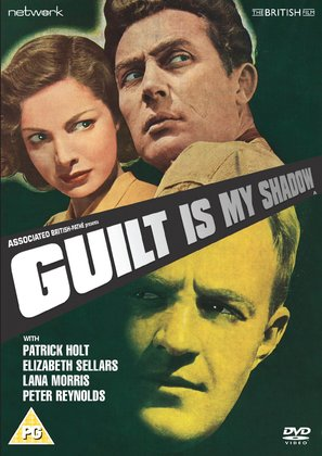 Guilt Is My Shadow - British DVD movie cover (thumbnail)
