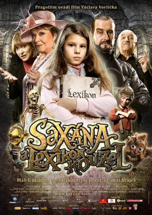 Saxána a Lexikon kouzel - Czech Movie Poster (thumbnail)