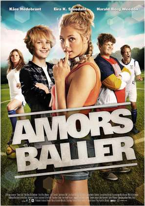 Amors baller - Norwegian Movie Poster (thumbnail)