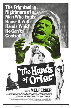 The Hands of Orlac - Movie Poster (thumbnail)