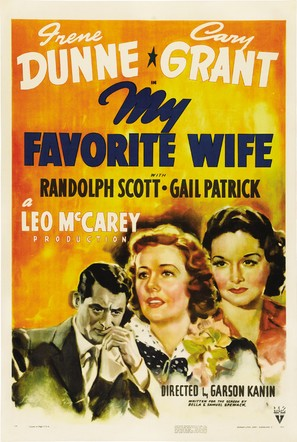 My Favorite Wife - Movie Poster (thumbnail)