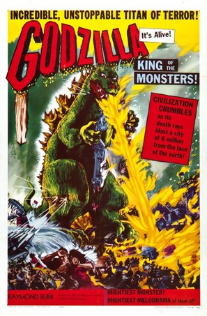 Godzilla, King of the Monsters! - Movie Poster (thumbnail)