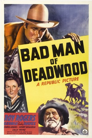 Bad Man of Deadwood - Movie Poster (thumbnail)
