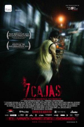 7 Cajas - Spanish Movie Poster (thumbnail)