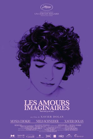 Les amours imaginaires - Canadian Movie Poster (thumbnail)