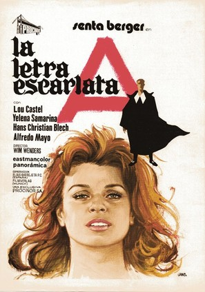 Scharlachrote Buchstabe, Der - Spanish Movie Poster (thumbnail)