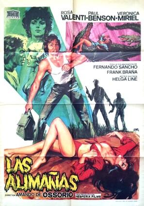 Las alimañas - Spanish Movie Poster (thumbnail)