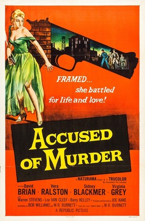 Accused of Murder - Movie Poster (thumbnail)