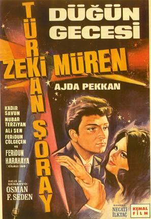 Dügün gecesi - Turkish Movie Poster (thumbnail)