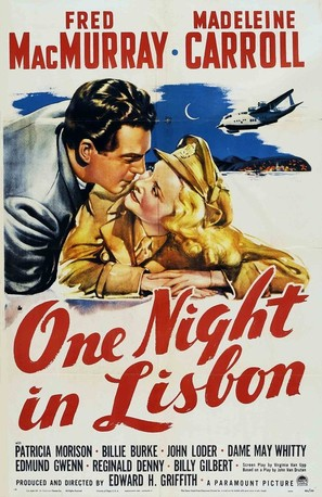 One Night in Lisbon - Movie Poster (thumbnail)