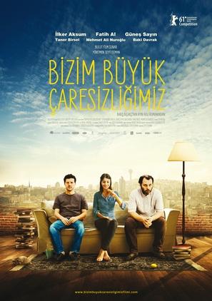 Bizim Büyük Çaresizligimiz - Turkish Movie Poster (thumbnail)