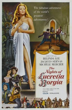 Notti di Lucrezia Borgia, Le - Movie Poster (thumbnail)