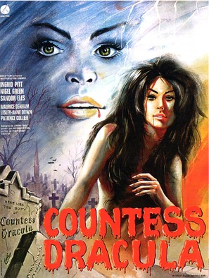 Countess Dracula - Belgian Movie Poster (thumbnail)