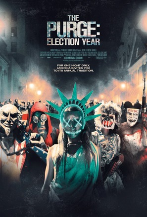The Purge: Election Year - British Movie Poster (thumbnail)