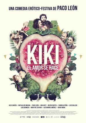 Kiki, el amor se hace - Spanish Movie Poster (thumbnail)