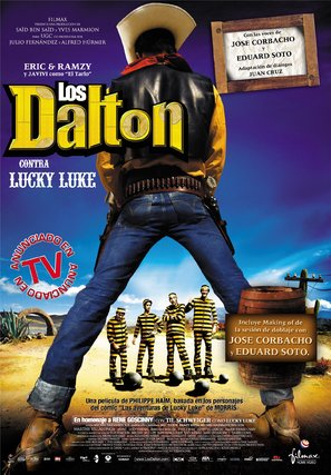 Les Dalton - Spanish Movie Poster (thumbnail)