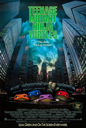 Teenage Mutant Ninja Turtles - Movie Poster (thumbnail)