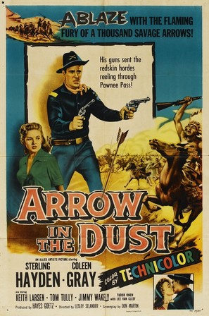 Arrow in the Dust - Movie Poster (thumbnail)