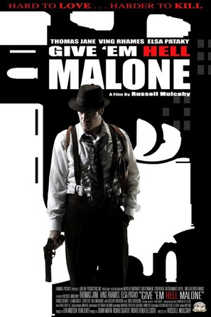 Give 'em Hell, Malone - Movie Poster (thumbnail)