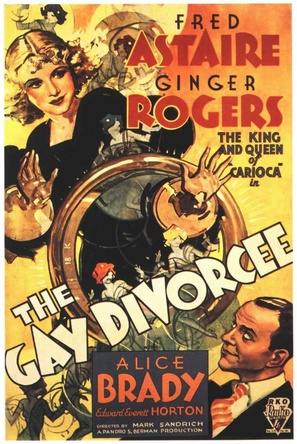 The Gay Divorcee - Movie Poster (thumbnail)