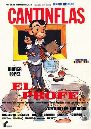 Profe, El - Spanish Movie Poster (thumbnail)