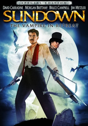 Sundown: The Vampire in Retreat - DVD cover (thumbnail)