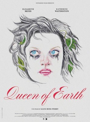 Queen of Earth - French Movie Poster (thumbnail)
