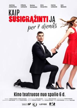 Kaip susigrazinti ja per 7 dienas - Lithuanian Movie Poster (thumbnail)