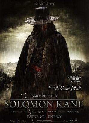 Solomon Kane - Spanish Movie Poster (thumbnail)