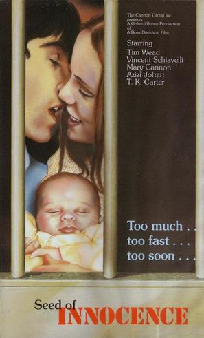 Seed of Innocence - British VHS movie cover (thumbnail)
