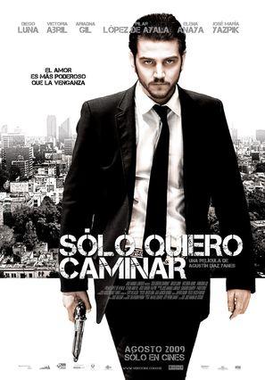 Sólo quiero caminar - Mexican Movie Poster (thumbnail)