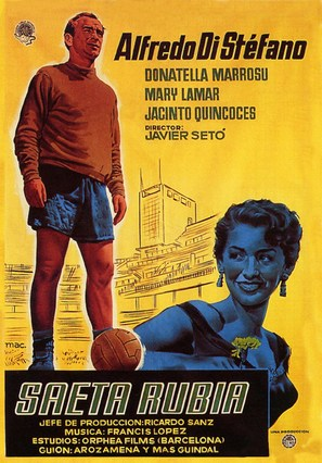 Saeta rubia - Spanish Movie Poster (thumbnail)