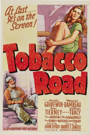 Tobacco Road - Movie Poster (thumbnail)