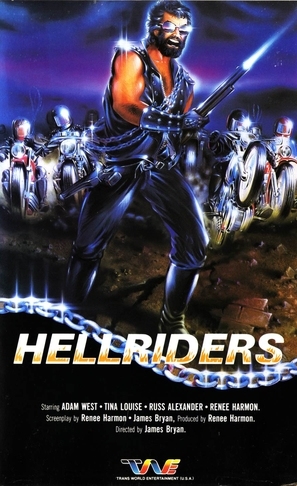 Hell Riders - Movie Cover (thumbnail)