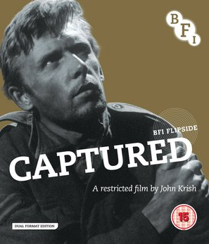 Captured - British Blu-Ray movie cover (thumbnail)