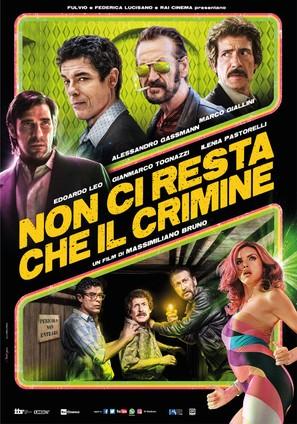 Non ci resta che il crimine - Italian Movie Poster (thumbnail)