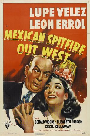 Mexican Spitfire Out West - Movie Poster (thumbnail)