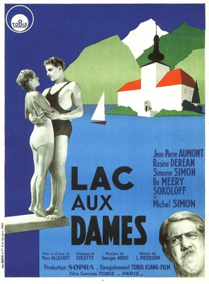 Lac aux dames - French Movie Poster (thumbnail)