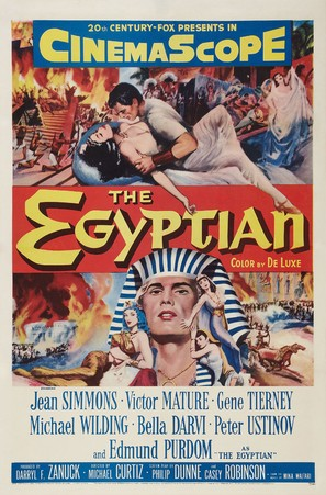 The Egyptian - Movie Poster (thumbnail)