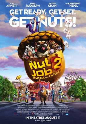 The Nut Job 2 - Movie Poster (thumbnail)
