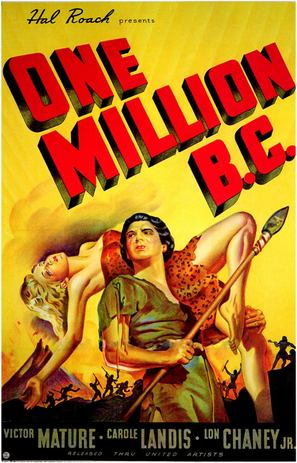 One Million B.C. - Movie Poster (thumbnail)